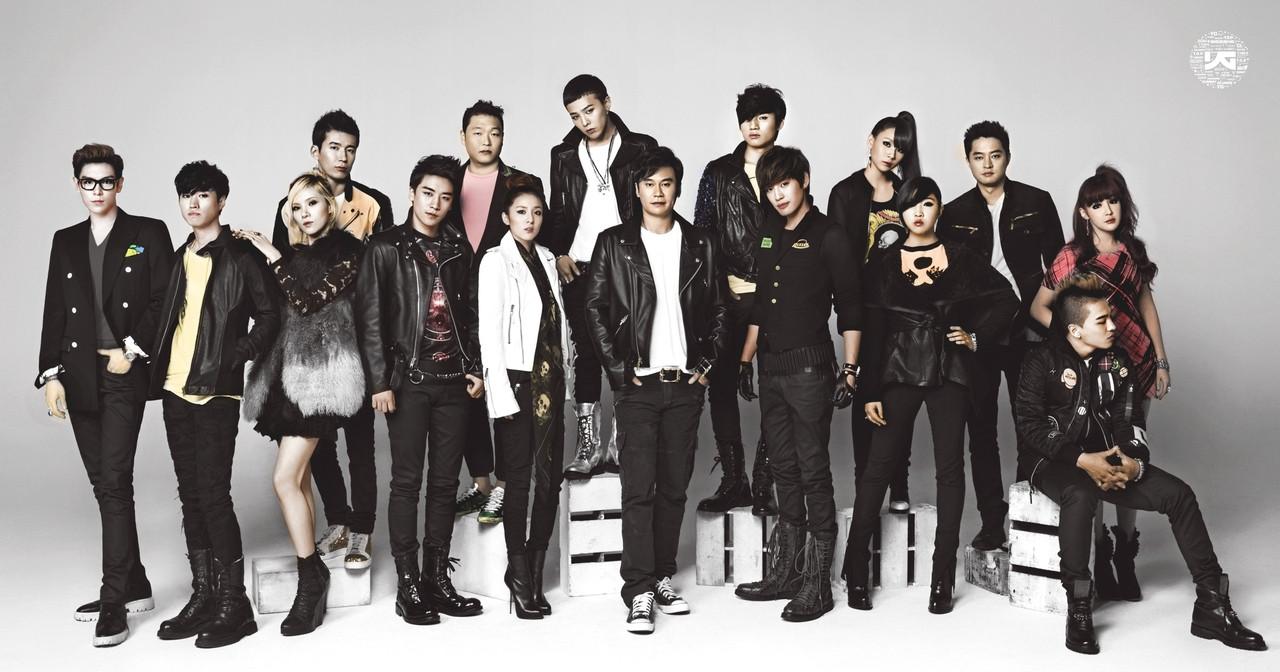 Artistas YG Entertainment donar art  237 culos para subasta de caridadYg Family 2014