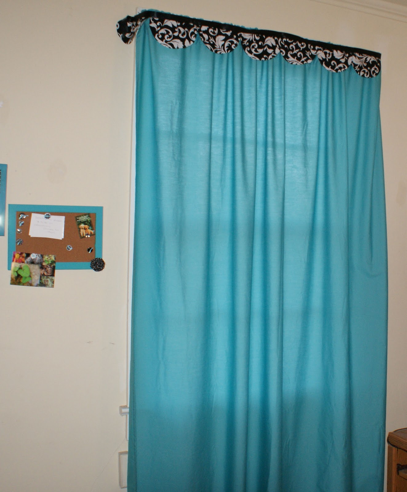 Coley 39 S Corner Easy No Sew Curtains
