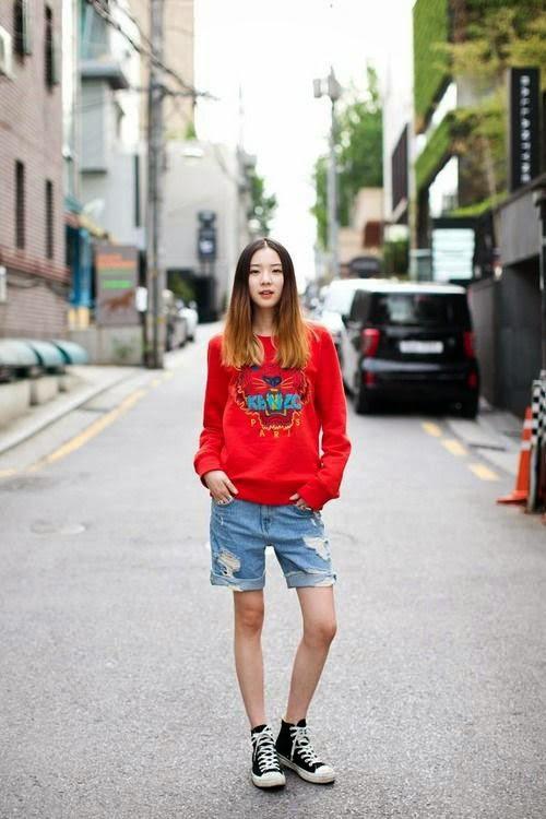 Phong cách thời trang cực chất của mẫu Hàn Quốc