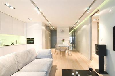 Desain Interior Minimalis Serba Putih 11