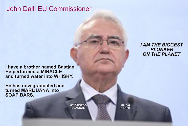 JOHN DALLI A CORRUPT EU COMMISSIONER