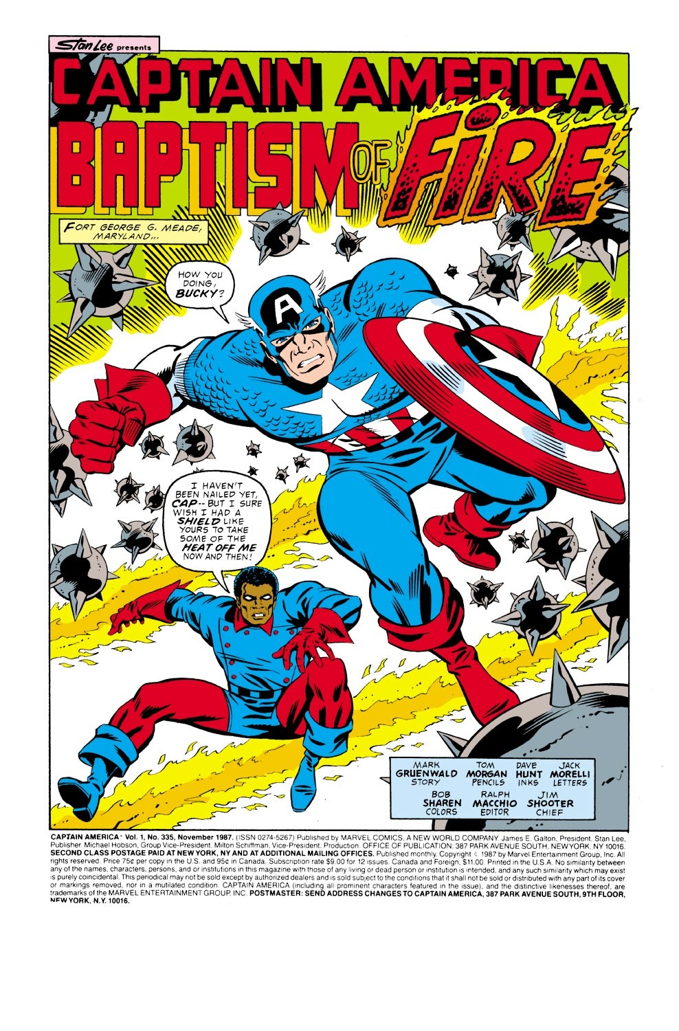 Captain America (1968) Issue #335 #264 - English 2