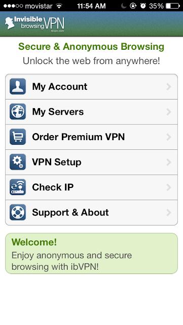 Como configurar un VPN  y ver sitios bloqueados sea Twitter, Facebook o tener mas app en Freemyapps 4