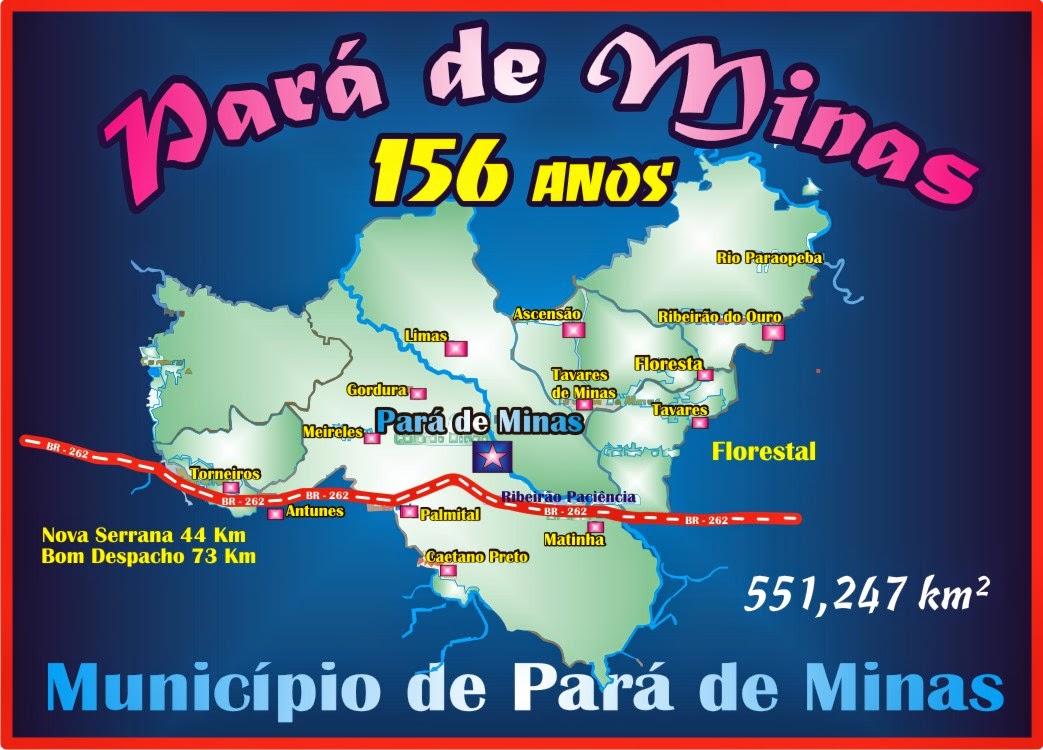 Pará de Minas 156 Anos