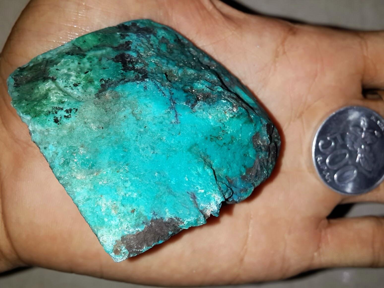 Bongkahan+batu+bacan+rough+palamea+1A Batu Bacan Cepat Kristal