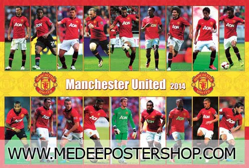 Manchester United 2014 Poster