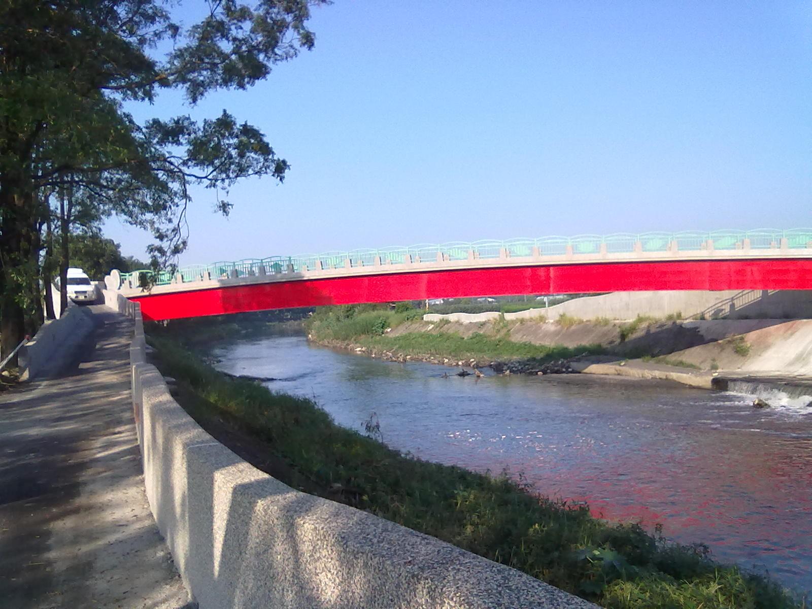屏東縣社區營造中心: 萬丹「紅豆故鄉」~~新泉拱橋鐵騎之旅。
