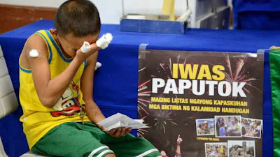 fireworks related injury in the philippines