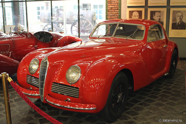 Alfa Romeo 6C 2500 Berlinetta Superleggera