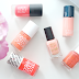 S/S Nails: Coral & Peach