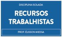 CURSO DE RECURSOS TRABALHISTA