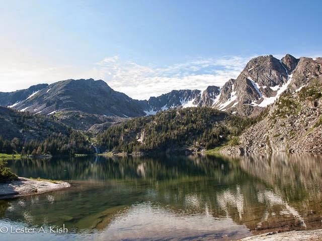 Pine Creek Lake, Montana
