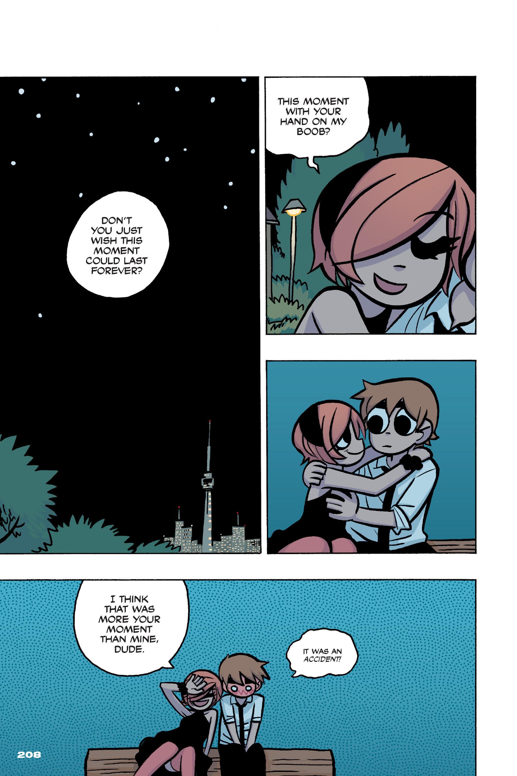 Read online Scott Pilgrim comic -  Issue #4 - 203