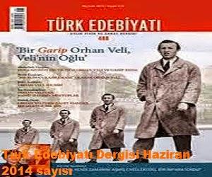 Türk Edebiyatı Dergisi Haziran 2014 sayısı