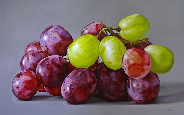 photorealistic paintings by Ellery Gutierrez