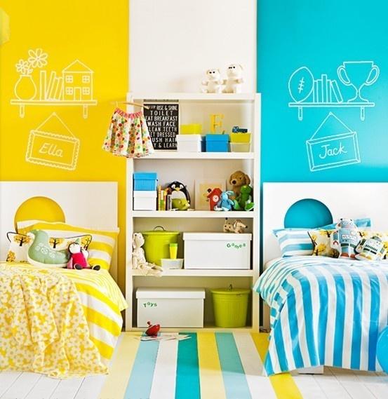 Kids Boy Girl Shared Room Ideas