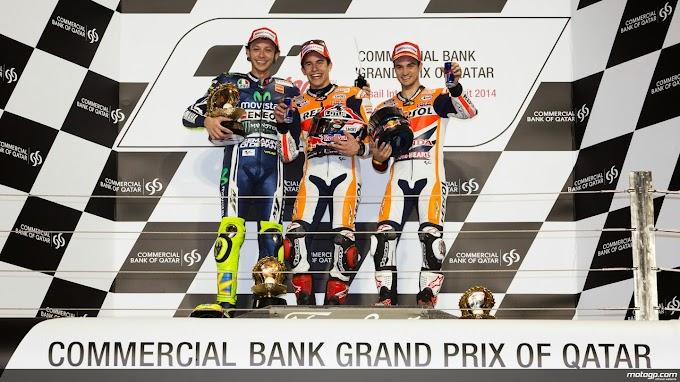 MotoGP Losail 2014 : Marc Juara Rossi Menggila