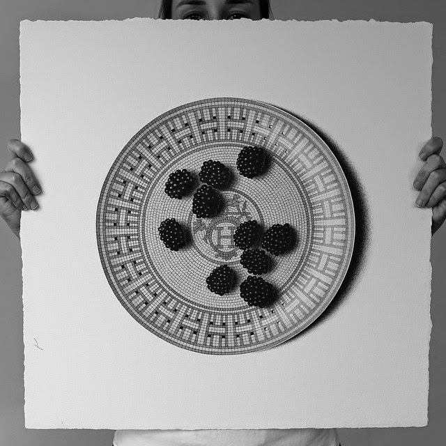 05-Blackberries-C-J-Hendry-Hyper-Realistic-Drawings-of-Food-www-designstack-co