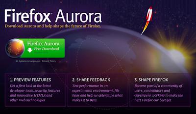 Firefox 15 (Aurora)
