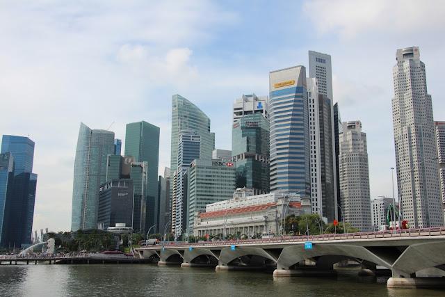 Singapur, Finanzdistrikt