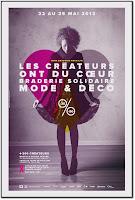 Braderie Solidaire Arcat Mode et Déco créateurs ont du coeur Bastille Paris 2013, Braderie solidaire 2013 Pierre Bergé Lutte contre sida