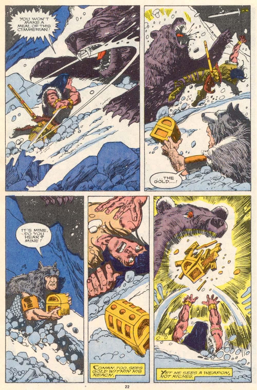 Conan the Barbarian (1970) Issue #220 #232 - English 18