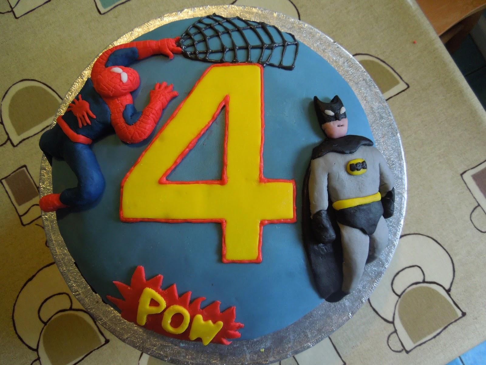 Made to Scrap Superhero Cakes