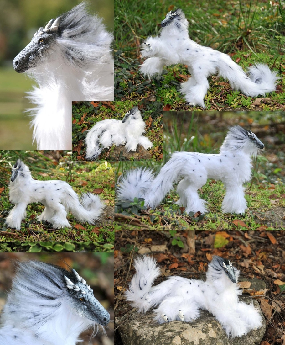 17-Snowy-Dragon-Jesse-Franks-Realistic-Faux-Animal-Sculptures-www-designstack-co