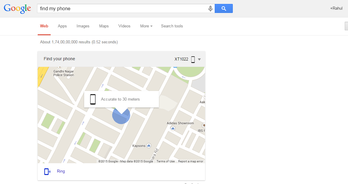 ok google - Find My Phone