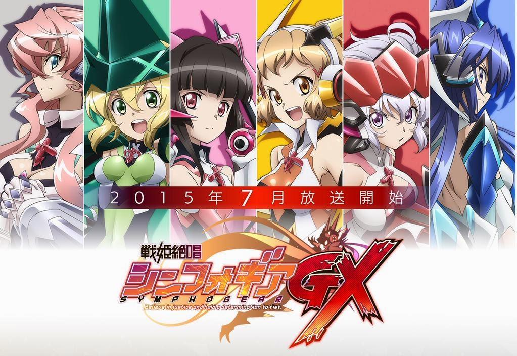 Senki Zesshou Symphogear GX vídeo promocional