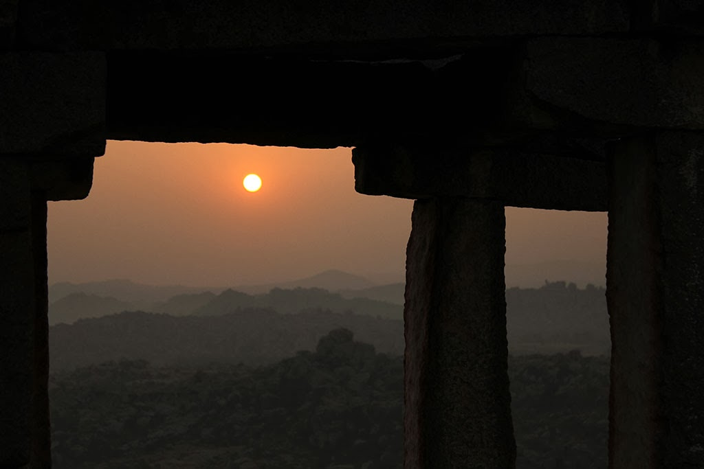 Hampi sunrise