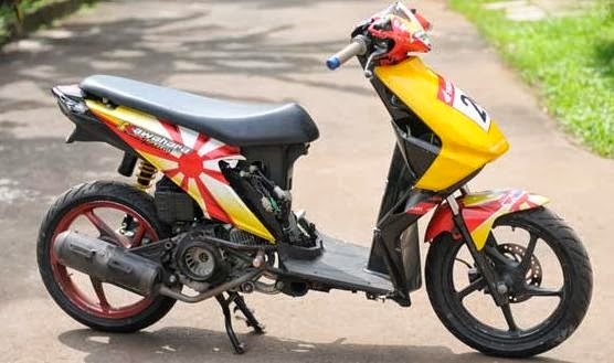 Gambar Modifikasi Motor Honda Beat Terbaru