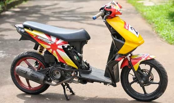 Modifikasi Motor Honda Beat Terbaru yang ada ingin saya tampilkan title=