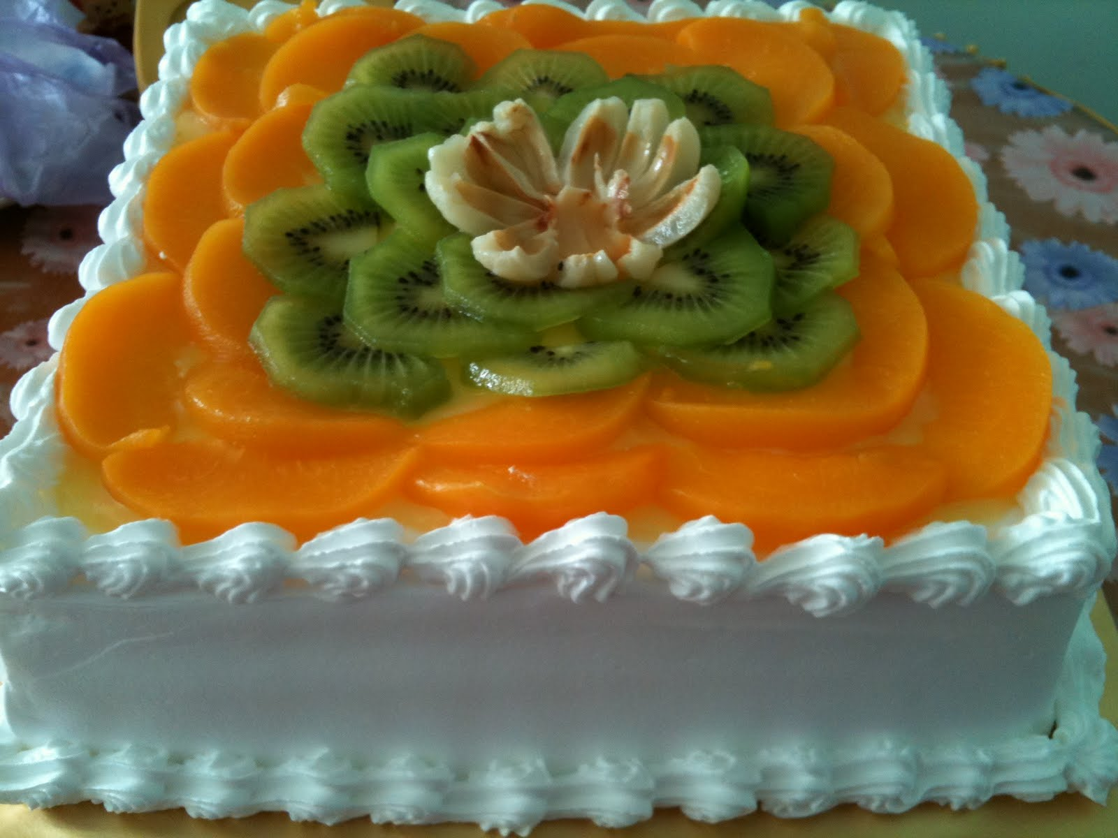 MamaBisya Cake House: Fruit Flan Cake Part 2