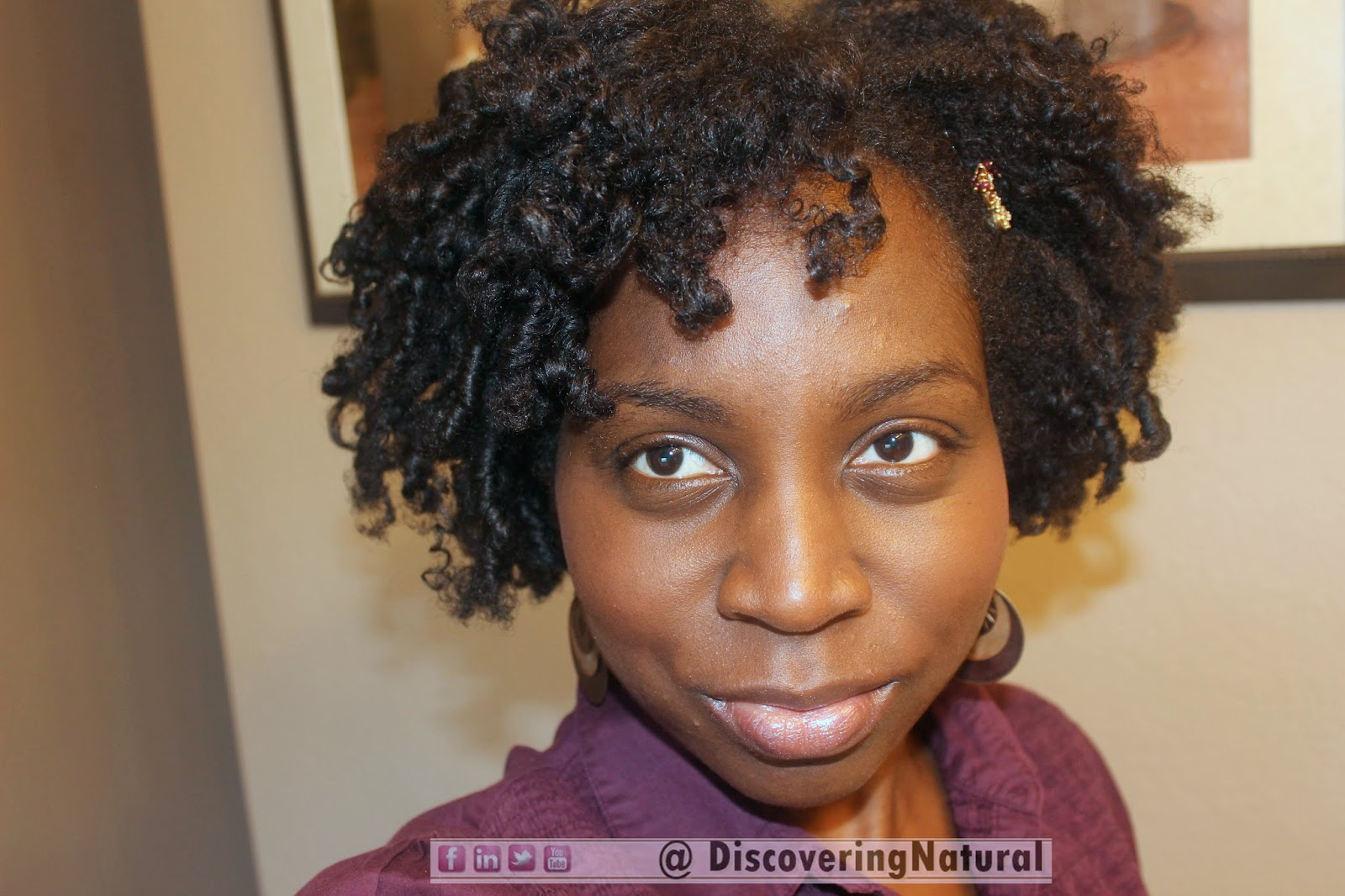Flexirods on Natural Hair
