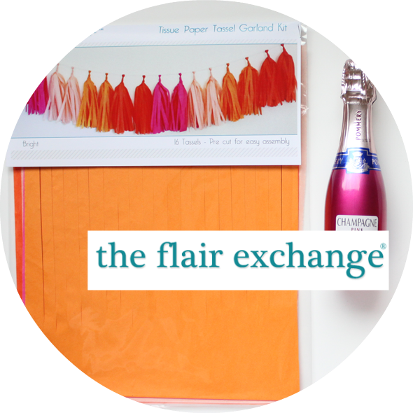 The Flair Exchange Party In A Box tassel kit