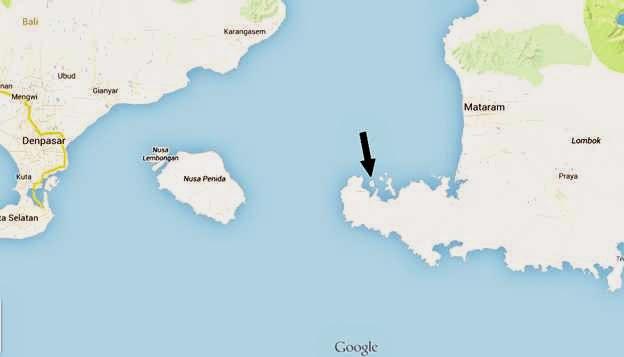 Gili Asahan Map
