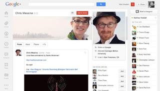 Nueva interfaz de Google Plus