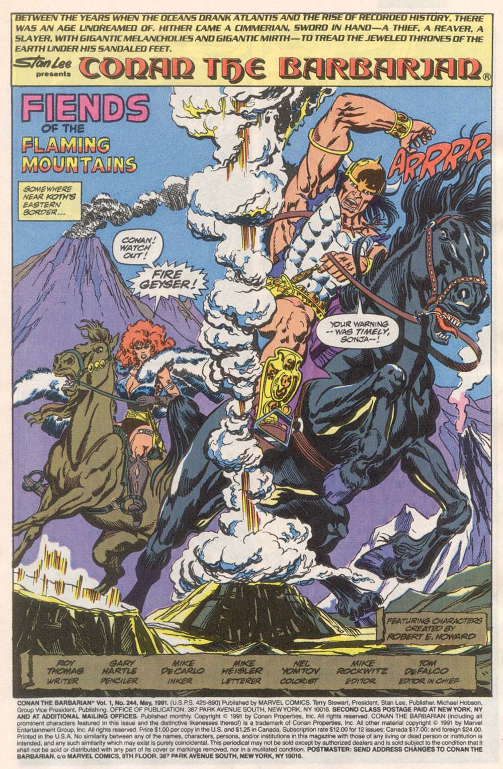 Conan the Barbarian (1970) Issue #244 #256 - English 2