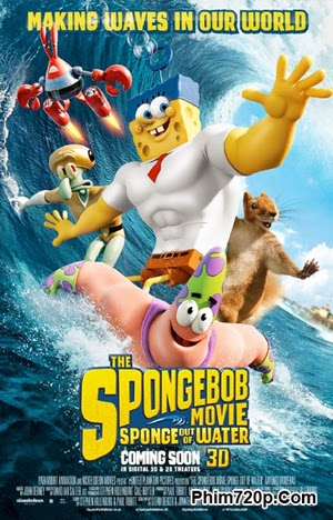 The SpongeBob Movie: Sponge Out of Water 2015 poster