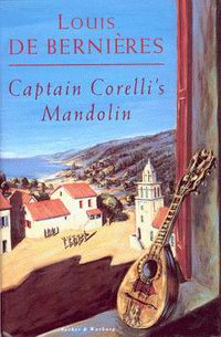 "Cover of ""Captain Corelli's Mandolin"", a novel by Louis de Bernières"