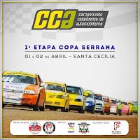 2ª Etapa Campeonato Catarinense de Automobilismo / 1ª Etapa Copa Serrana