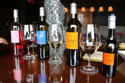 Vinos y aceite  Belondrade. Blog Esteban Capdevila