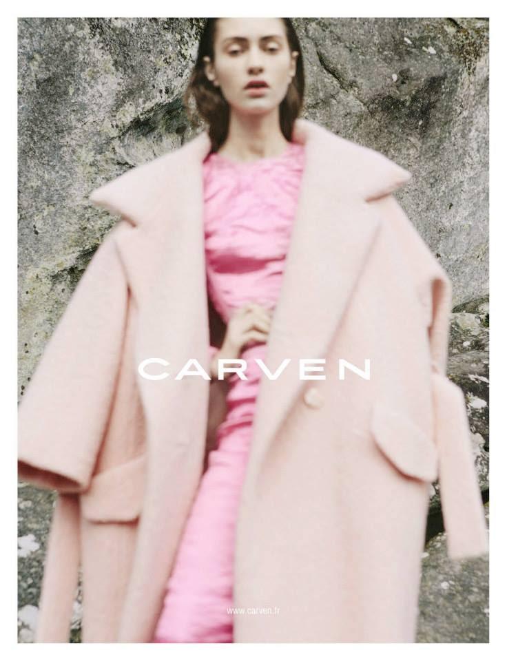 Autumn Winter Ad Campaigns: Carven | Laura Bella