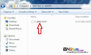 Hướng dẫn Ghost và Bung Windows XP, 7, 8 trực tiếp đơn giản