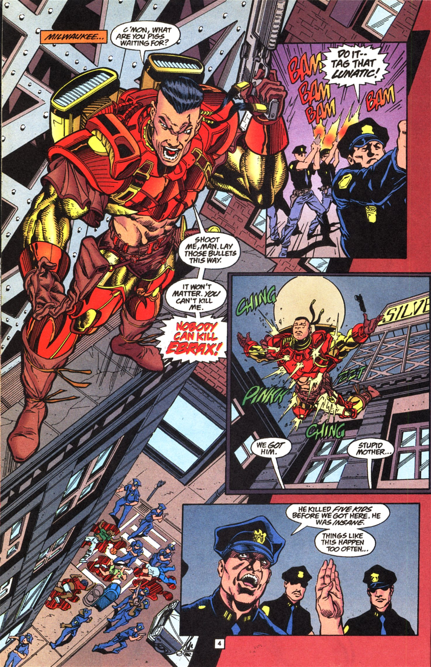 Deathstroke (1991) Issue #52 #57 - English 5