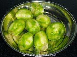 peel the hog plums