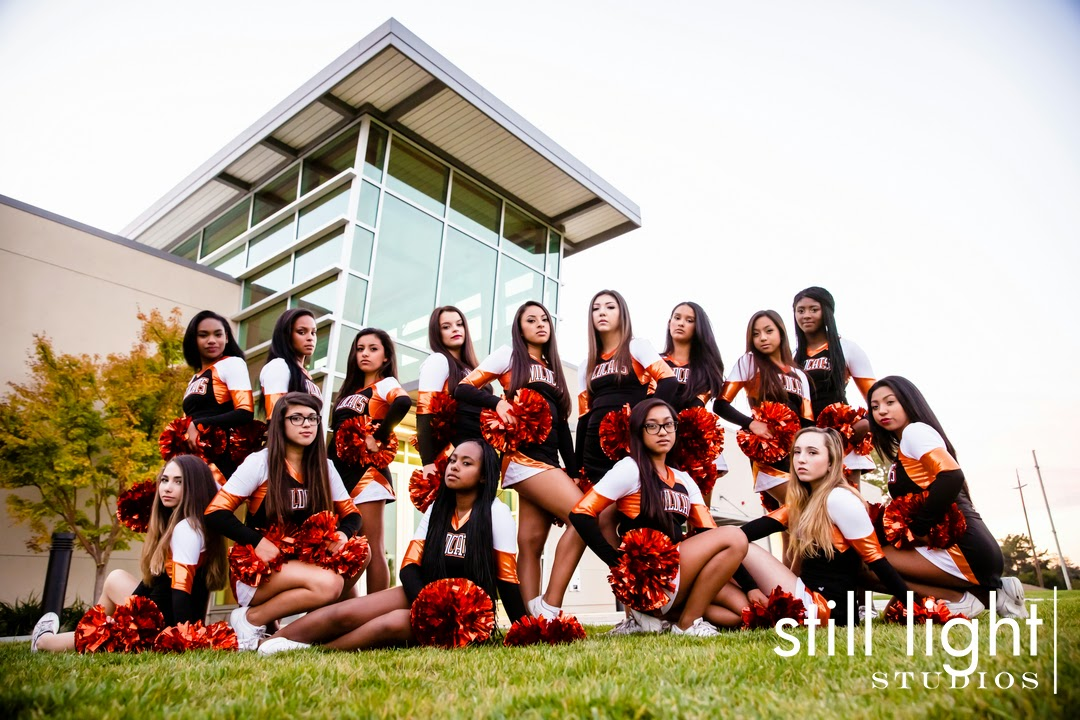 Woodside High School Cheer Team by Still Light Studios, Cheerleaders, Wildcats, School Sport and Senior Photography in Bay Area