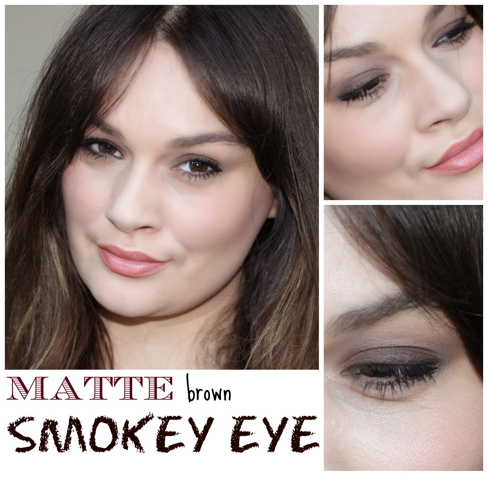 Beautiful me plus you matte smokey eye makeup tutorial matte smokey eye makeup tutorial baditri Gallery