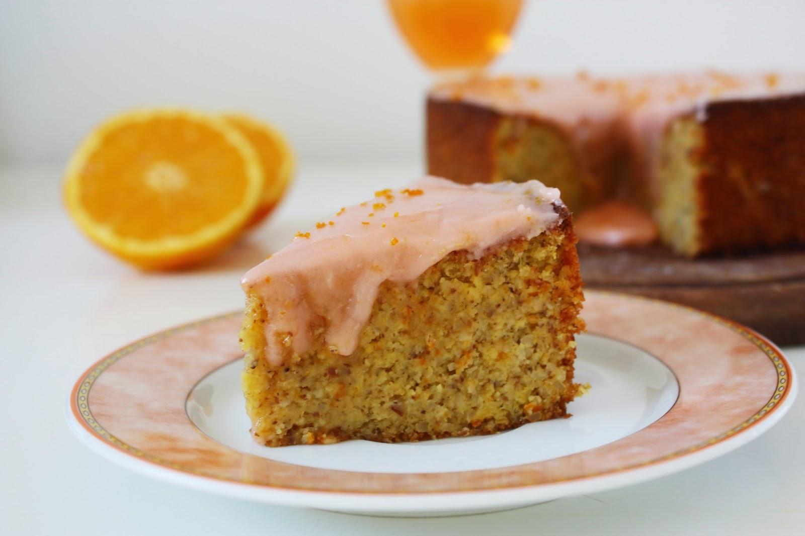 Saftiger Mandel Orangen Kuchen Glutenfrei backen